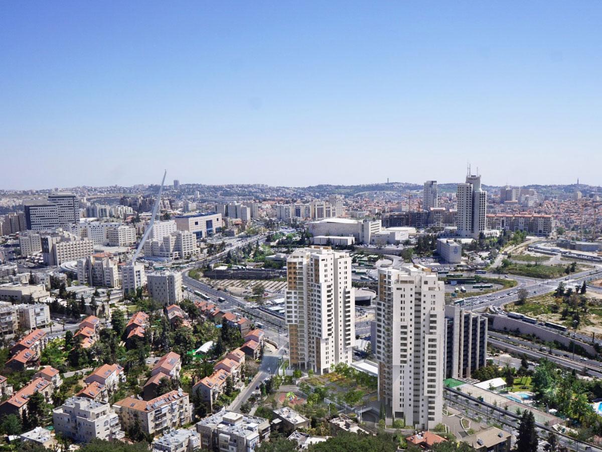 רובע 1 - פרוייקט המקשר ירושלים - נאות המקשר